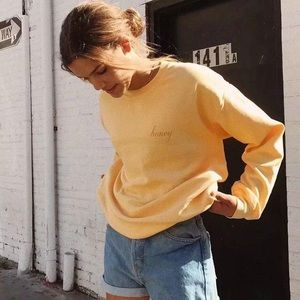 Brandy Melville Honey Sweatshirt